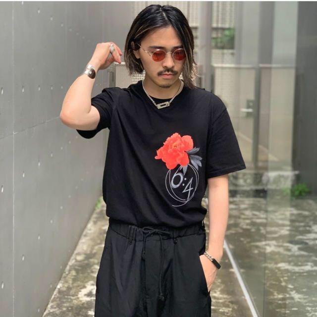 Yohji Yamamoto(ヨウジヤマモト)のsyte 6:4 t-shirt yohji yamamoto なかむ メンズのトップス(Tシャツ/カットソー(半袖/袖なし))の商品写真