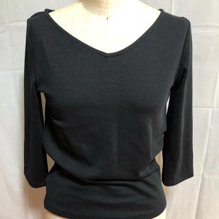 ジーユー(GU)の七分袖 無地 シンプル (Tシャツ(長袖/七分))
