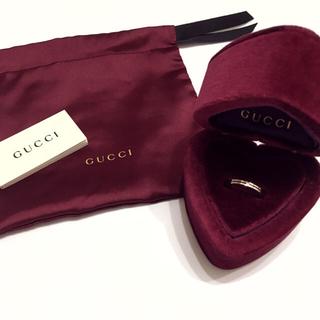グッチ(Gucci)の現行品 GUCCI インフィニティ 日本限定 ホワイトゴールド リング(リング(指輪))