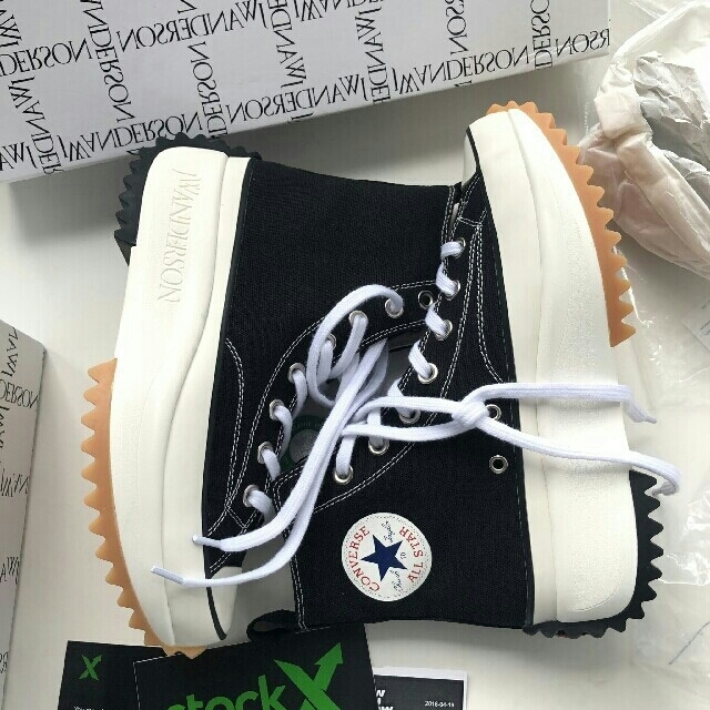 CONVERSE(コンバース)のConverse X JW anderson run star hike メンズの靴/シューズ(スニーカー)の商品写真