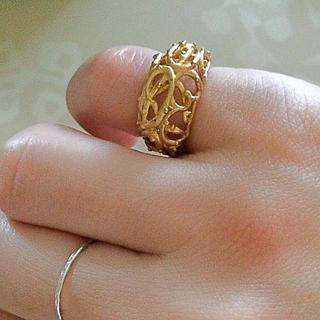 カウイジャミール(KAWI JAMELE)のmirror♡鳥の巣ピンキーリング5号(リング(指輪))