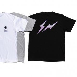 FRAGMENT - THUNDERBOLT PROJECT ポケモン ミュウツー Tシャツ(黒)