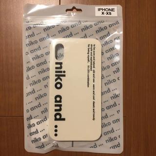 niko and... - niko and... 新品 iPhoneケース(ホワイト)