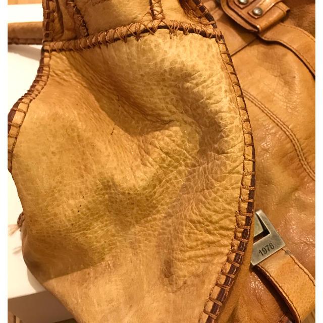 DIESEL(ディーゼル)のDIESEL 本革 レザーバッグ メンズのバッグ(ボストンバッグ)の商品写真