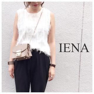 イエナ(IENA)の美品 IENA フリンジニットタンクプルオーバー(タンクトップ)