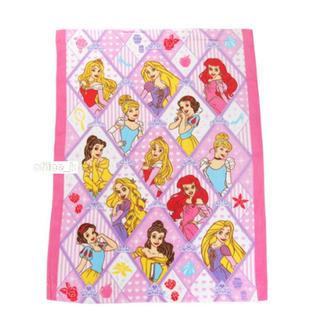 Disney - ディズニー プリンセス タオルケット ブランケット おひるね 布団 子供