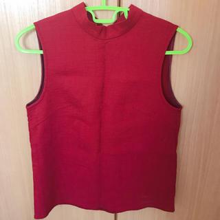 マウジー(moussy)のノースリーブ(Tシャツ(半袖/袖なし))