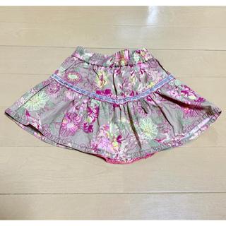 オイリリー(OILILY)のoilily cake walk スカート 花柄(スカート)