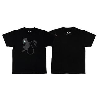フラグメント(FRAGMENT)のSサイズ THUNDERBOLT PROJECT ミュウ黒Tシャツ(Tシャツ/カットソー(半袖/袖なし))