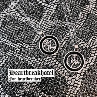 ♥️ Vintage Silver circle Necklace