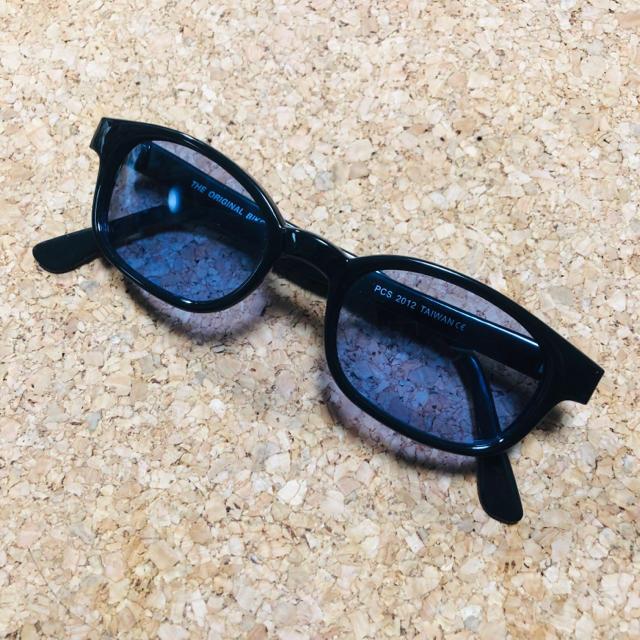 TENDERLOIN(テンダーロイン)の早い者勝ち! 送料無料 お得 セール バイカー シェード サングラス ブルー メンズのファッション小物(サングラス/メガネ)の商品写真