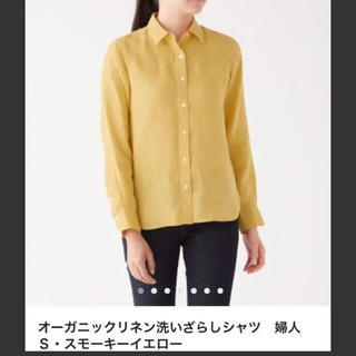 MUJI (無印良品) - 無印 リネンシャツ Mサイズ