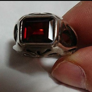 ②FERR STYLE シルバーリング ガーネット(リング(指輪))