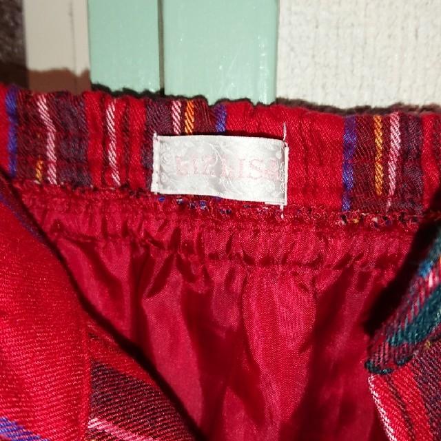 LIZ LISA(リズリサ)の新品未使用    LIZ LISA    チェック スカート フレアースカート レディースのスカート(ひざ丈スカート)の商品写真