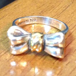 ティファニー(Tiffany & Co.)のティファニー・リボンリング(リング(指輪))