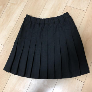 テニススカート プリーツスカート ブラック