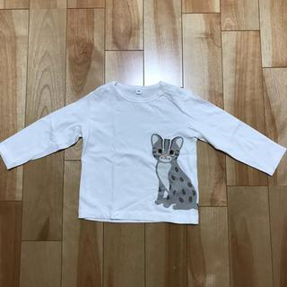ムジルシリョウヒン(MUJI (無印良品))の無印良品 イリオモテヤマネコ ロンT サイズ90(Tシャツ/カットソー)