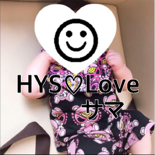 HYSTERIC MINI - H HYS♡Love 様 ポップドック セトア 90cm ピンク