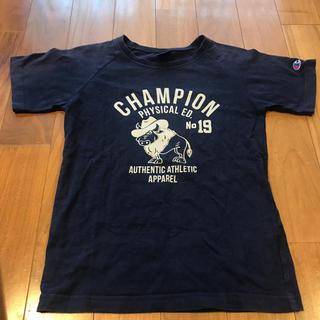 チャンピオン(Champion)のchampion チャンピオン Tシャツ 150 ネイビー(Tシャツ/カットソー)