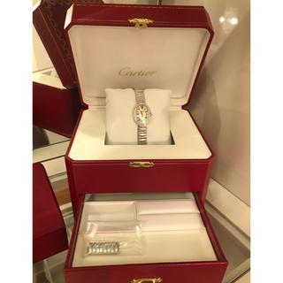 カルティエ(Cartier)のカルティエ♡ミニ ベニュワール♡フェミニンなWGのダイヤモンドケース♡(腕時計)