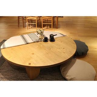 アクタス(ACTUS)の26万!Actus/アクタス パイン材無垢 F1テーブル 座卓/センターテーブル(ローテーブル)