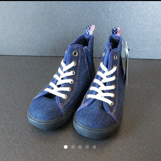 ampersand(アンパサンド)のampersand スニーカー 16 キッズ/ベビー/マタニティのキッズ靴/シューズ (15cm~)(スニーカー)の商品写真