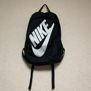 NIKE - ナイキ スポーツ バッグ リュック サック 黒 ロゴ 韓国 トレンド