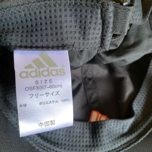 adidas(アディダス)の[送料込☆美品]adidasトレーニングキャップ レディースの帽子(キャップ)の商品写真