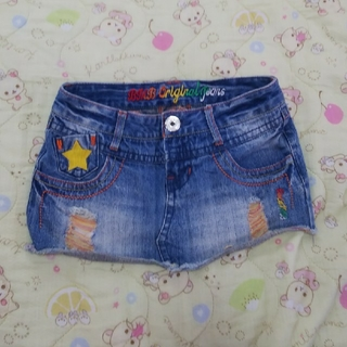 ブルームーンブルー(BLUE MOON BLUE)の③BLUE MOON BLUE デニムミニスカート(ミニスカート)