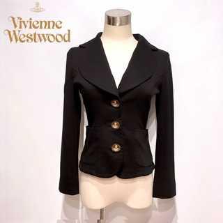 Vivienne Westwood - 美品 ヴィヴィアンウエストウッド ラブ ジャケット 黒 サイズ2