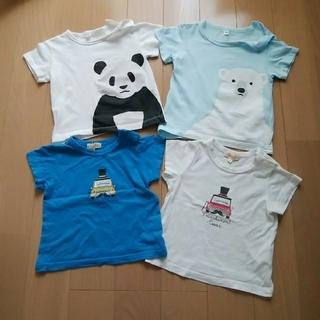 ムジルシリョウヒン(MUJI (無印良品))の80半袖Tシャツ 2枚セット(Tシャツ)