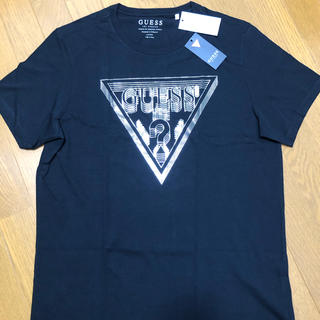 GUESS - GUESS ゲス Tシャツ SS BSC LINEAR 3D トライアングル
