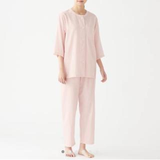 ムジルシリョウヒン(MUJI (無印良品))の脇に縫い目のない 細番手二重ガーゼ 七分袖パジャマ・婦人M(パジャマ)