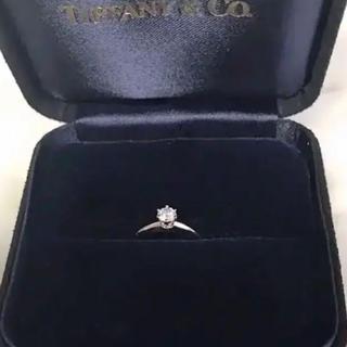 ティファニー(Tiffany & Co.)の(超美品)0.27カラット‼️TIFFANY&Co.エンゲージリング‼️(リング(指輪))