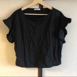 オペークドットクリップ(OPAQUE.CLIP)のオペーク 袖フリル カットソー(カットソー(半袖/袖なし))