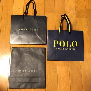 ラルフローレン(Ralph Lauren)のポロ ラルフローレン ショッパー 3枚(ショップ袋)