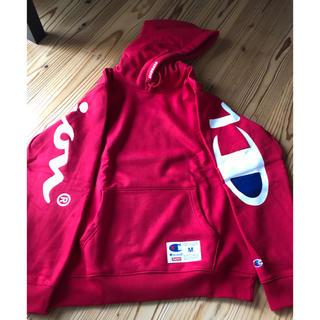 シュプリーム(Supreme)の新品  Supreme® Champion® Hooded Sweatshirt(パーカー)