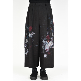 LAD MUSICIAN - 19ss 2TUCK CROPPED WIDE SLACKS