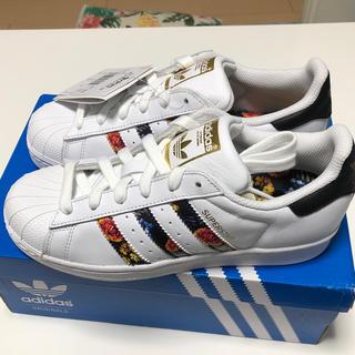 adidas - adidasスタンスミス定価16200円以上‼️フラワーパターン‼️
