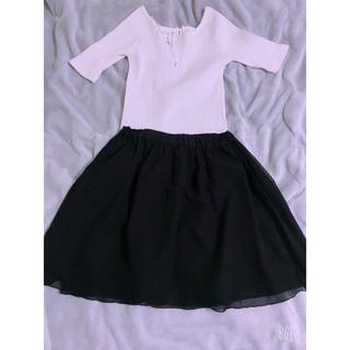 ローリーズファーム(LOWRYS FARM)のリバーシブルブラックスカート(ミニスカート)