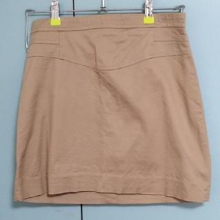 ザラ(ZARA)のZARA 膝上丈 ベージュ スカート S(ひざ丈スカート)