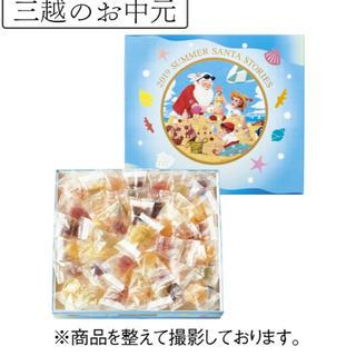 ミツコシ(三越)の【専用】彩果の宝石 サマーギフト缶入り75個入り 箱缶なし(菓子/デザート)