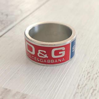 ドルチェアンドガッバーナ(DOLCE&GABBANA)のD&G ring(リング(指輪))