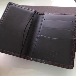 LOUIS VUITTON - 正規品ルイヴィトン名刺入れカードケースエピブラウン