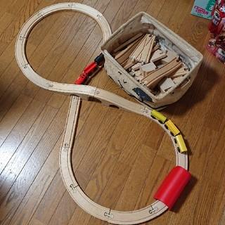 イケア(IKEA)のIKEA木製レールセット(電車のおもちゃ/車)