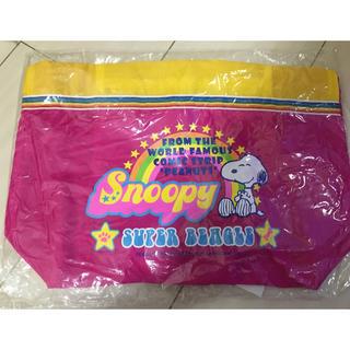 スヌーピー(SNOOPY)の【新品未使用】スヌーピー ナイロン トートバッグ(トートバッグ)