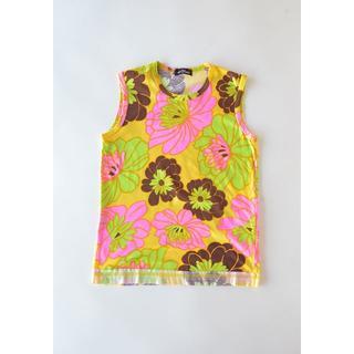 コムデギャルソン(COMME des GARCONS)の美品 トリココムデギャルソン Tシャツ ノースリーブ Tシャツ タンクトップ(Tシャツ(半袖/袖なし))