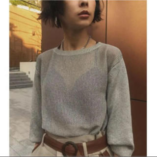Ameri VINTAGE - 最終値下げ!amerivintage sparkle lame knit