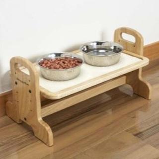 3段階に高さが変えられる♪ペット用テーブル 221