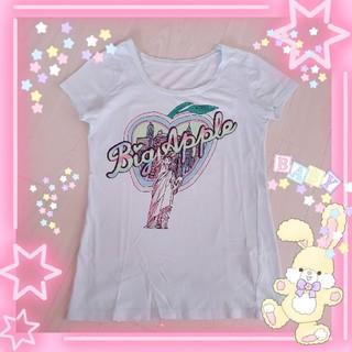 バービー(Barbie)の【送料込】Barbie 女神グラデーションTシャツ M バービー(Tシャツ(半袖/袖なし))